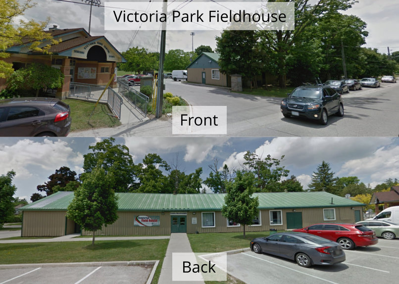 Tab image for map of Victoria Park Fieldhouse in Fergus