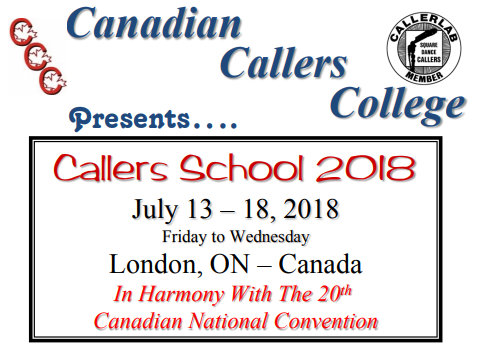 Callers School 2018 @ Fanshawe College, Residence and Conference Centre | London | Ontario | Canada