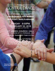 FEB Poster 2019 - Contra meets St. Patrick